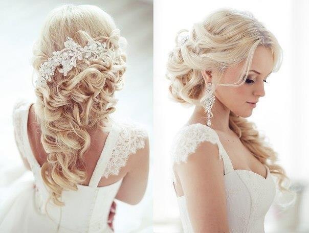 Красивые причёски для свадьбы